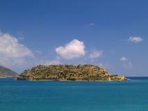spinalonga острова Стоковое Изображение