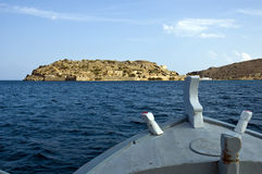 Spinalonga Royalty Free Stock Photos