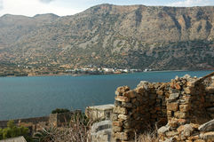 Spinalonga Royalty Free Stock Images