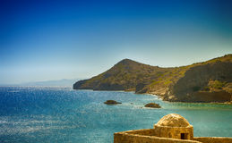 Spinalonga Stockbild