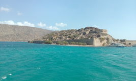 Spinalonga Fotografia de Stock Royalty Free