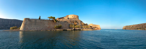 Spinalonga, Crète images stock