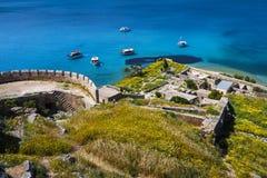Spinalonga, Crete immagini stock
