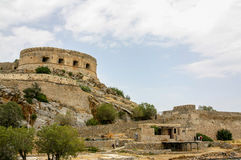 Spinalonga, Crete, Greece Royalty Free Stock Photo