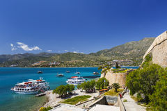 Spinalonga, Crete. Royalty Free Stock Images