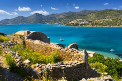 Spinalonga, Crete. stock image