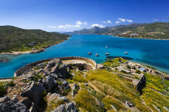 Spinalonga, Crete. Royalty Free Stock Image