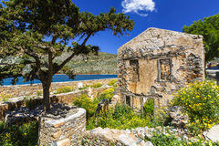 Spinalonga, Crete. Stock Photos