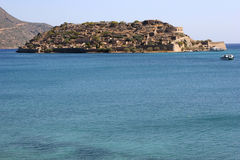 spinalonga d'île de Crète photos stock