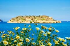 Spinalonga, die Insel Lizenzfreie Stockfotos