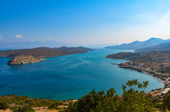 Spinalonga and Elounda Stock Photo
