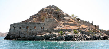 Spinalonga fortress Stock Photos