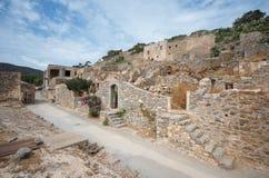 Spinalonga Fortress, Crete - Greece Stock Images