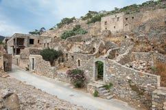 Spinalonga Fortress, Crete - Greece Stock Photos