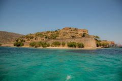Spinalonga Fortress Island Royalty Free Stock Image