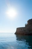 Spinalonga Fortress Royalty Free Stock Images