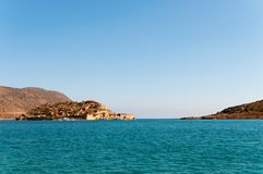 Spinalonga Fortress Royalty Free Stock Photos