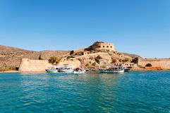 Spinalonga Fortress Royalty Free Stock Image