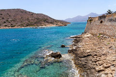 Spinalonga fortress Stock Image