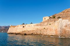 Spinalonga Fortress Stock Photography