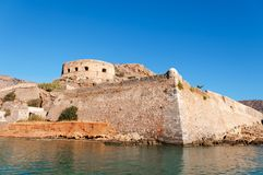 Spinalonga Fortress Royalty Free Stock Photography