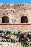 Spinalonga Fortress Stock Photo