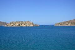 Spinalonga Insel Lizenzfreie Stockbilder