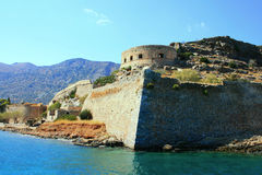 Spinalonga island Stock Images