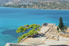 Spinalonga island Stock Image