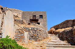 Spinalonga Island, Crete, Greece, Europe Royalty Free Stock Images