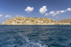 Spinalonga, island in Crete, Greece, Europe Royalty Free Stock Photography