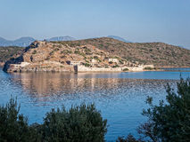 Spinalonga Island in Crete, Greece Royalty Free Stock Photography