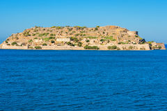 Spinalonga island. Crete, Greece Royalty Free Stock Image