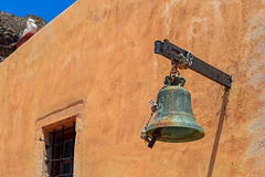 Spinalonga Island Fortress Church Bell Stock Photos