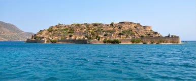 Spinalonga island, Greece, Europe Royalty Free Stock Image