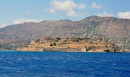 Spinalonga island, Greece, Europe Stock Photo
