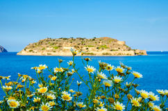 Spinalonga, the island Royalty Free Stock Photos