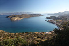 Spinalonga Island, Plaka and Elounda, Northern Crete Stock Photo