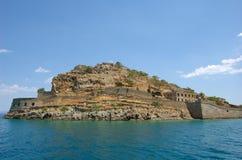 Spinalonga, Kreta 2 Royalty-vrije Stock Afbeelding