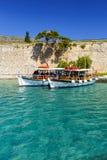 Spinalonga, Kreta royalty-vrije stock afbeeldingen