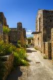 Spinalonga, Kreta stock fotografie
