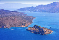 Spinalonga. Mirabello Bay. Royalty Free Stock Image