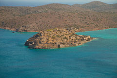 Spinalonga (Spinalogka) Island Stock Photos
