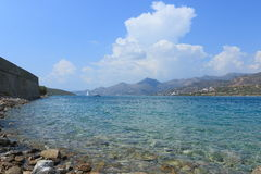 On the Spinalonga Royalty Free Stock Photography