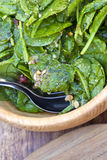 Spinash salad Stock Photos