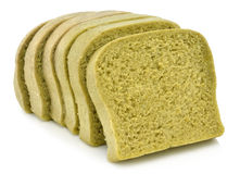 Spinash sliced bread Stock Images