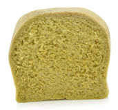 Spinash sliced bread Royalty Free Stock Image
