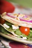 Spinat-Salat Stockfotos