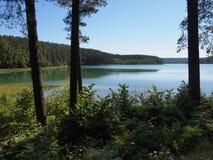 SpindÅ ¾ ius jezioro (Lithuania) Zdjęcia Royalty Free