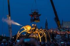 Spindel av Lamaskinen Fotografering för Bildbyråer